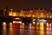 View of Prague at night — Stock Photo