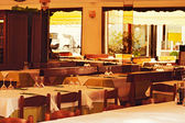 Interior of italian restaurant  — Photo