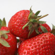 Stock Photo: Fresh strawberries
