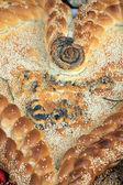 Closeup of delicious homemade bred — Stock Photo