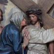 Stock Photo: 4th Stations of the Cross