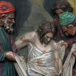 14th Stations of the Cross - Stock Photo