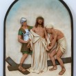 Stock Photo: 10th Stations of the Cross