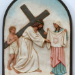 6th stations of the cross — Stock Photo