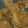 5th Station of the Cross - Lizenzfreies Foto