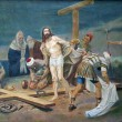 Stock Photo: 10th Station of Cross