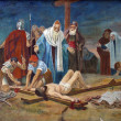 11th Station of the Cross - Stock Photo