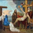 13th Station of the Cross - Stock Photo