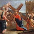 Stock Photo: 4th Stations of Cross