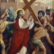 2nd Stations of the Cross - Stock Photo