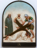 9th Stations of the Cross — Stock Photo