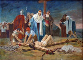 11th Station of the Cross — Stock Photo