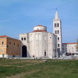 Church of st. Donat in Zadar, Croatia - Stock Photo