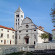 Stock Photo: St. Mary church in Zadar, Croatia