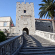 Korcula. Small island city near Dubrovnik in Croatia — Stockfoto
