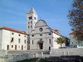 St. Mary church in Zadar, Croatia — Stok fotoğraf