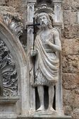 Statue of St. John the Baptist — Foto Stock