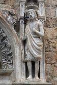 Statue of St. John the Baptist — Stock Photo
