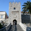 Korcula. Small island city near Dubrovnik in Croatia — Stock Photo