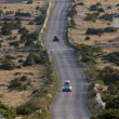 Asphalt winding road, Island of Pag, Croatia. — Stock Photo #14165727