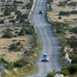 Asphalt winding road, Island of Pag, Croatia. — Stock Photo #14165926