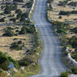 Asphalt winding road, Island of Pag, Croatia. — Stock Photo #14165946