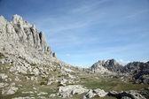 Cliff on mountain Velebit - Croatia — Stock Photo