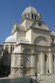 Cathedral of St. James in Sibenik, Croatia — Stockfoto