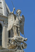 Saint michael, cattedrale di san giacomo, sibenik — Foto Stock