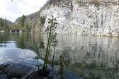Park narodowy jezior plitwickich w chorwacji — Zdjęcie stockowe