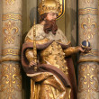 Saint Stephen of Hungary — Stock Photo