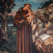 Saint Anthony of Padua — Stock Photo