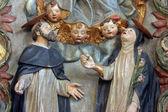 圣多米尼克和圣凯瑟琳的锡耶纳 — 图库照片