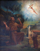 Saint Francis of Assisi — Stock Photo