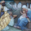 Nativity Scene, Adoration of Magi — Stock Photo #14246289