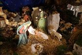 Nativity scene, Cana-Church of the Miracle — Stock Photo