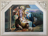 Nativity Scene — Stockfoto