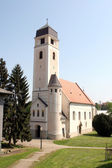 Church of Holy Cross, Krizevci, Croatia — Stock fotografie