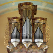 Stock Photo: Beautiful pipe organ