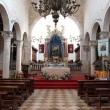 Altar in the Church of Assumption of the Blessed Virgin Mary in Pag — Stock fotografie