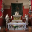 Chapel of St. Vincenca in the church of All Saints in Blato, Croatia — Stock Photo