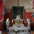 Chapel of St. Vincenca in the church of All Saints in Blato, Croatia — Foto Stock