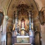 Church altar — Stock Photo