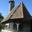 Stock Photo: A traditional church made of wood