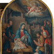 Nativity Scene, Adoration of the Shepherds — Lizenzfreies Foto