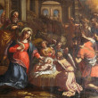 Stock Photo: Nativity Scene, Adoration of Shepherds