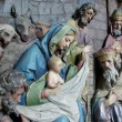 Nativity Scene, Adoration of the Magi — Stock Photo