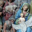 Nativity Scene, Adoration of the shepherds — Stock Photo #14261609