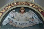 "Heavenly Angel declaring ""Gloria in excelsis Deo!"" — Stock fotografie"