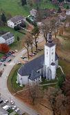 Antagandet av jungfru maria kyrka, nova raca, kroatien — Stockfoto